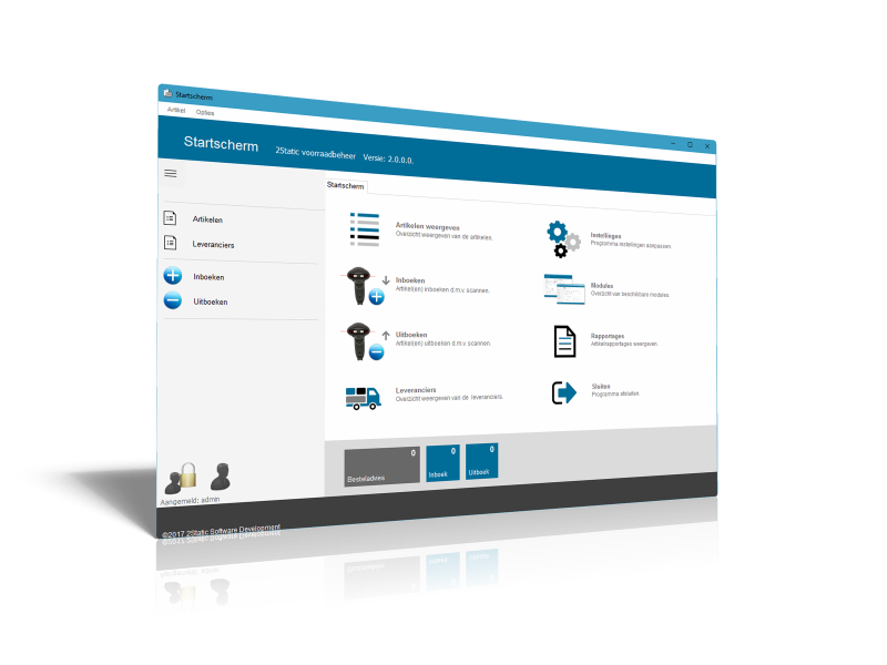 Inventory management software free eddition - 2Static-inventory